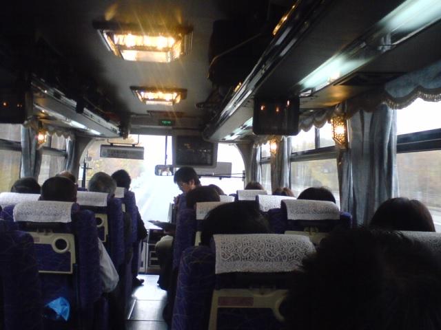 中型バスで